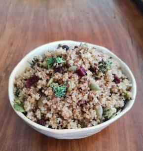 Quinoa especiada con mix de semillas