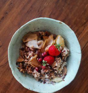Porridge de manzana