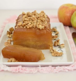 Milhojas de manzanas