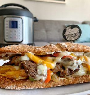 Philly Cheesesteak sándwich