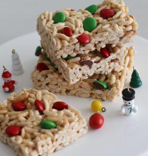 Barritas de cereal inflado