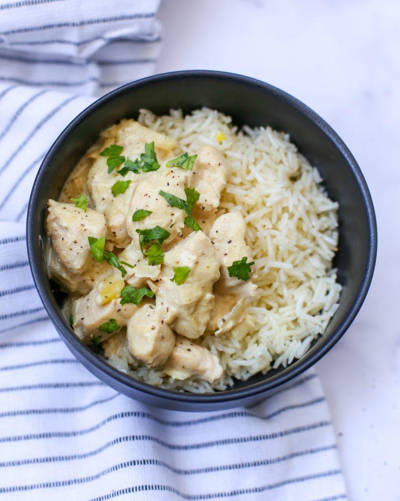Receta pollo a la mostaza Instant Pot