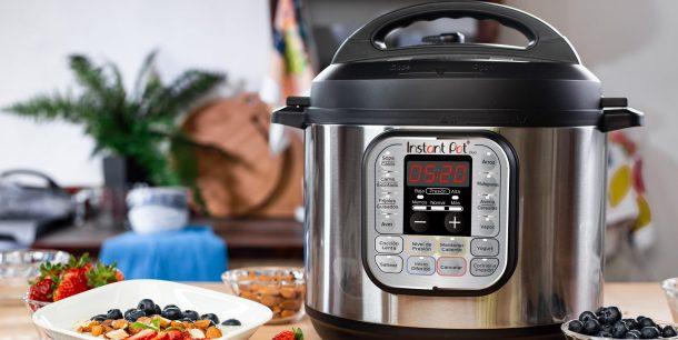 Planificar y ordenar tus comidas es simple con Instant Pot®