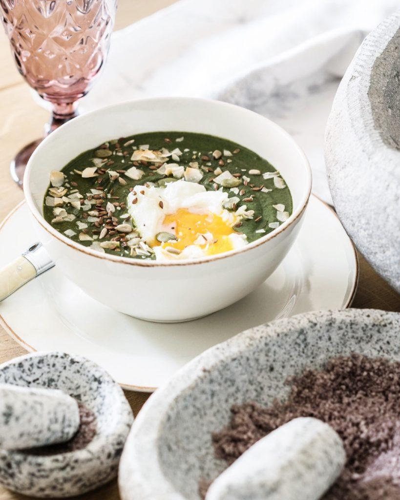 Receta sopa de espinaca Instant Pot