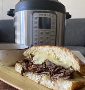 French dip sándwich