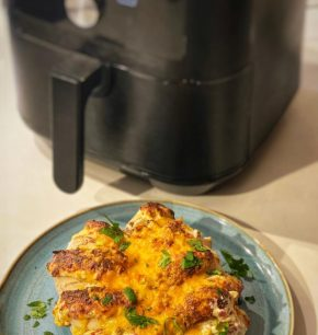 Hasselback de pollo y jalapeño